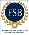 We are a Member of the  federation of small businesses